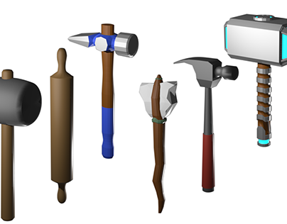 Hammer Skins for the Mobile Game