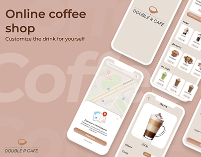 Online COFFEE shop / DOUBLE R CAFE