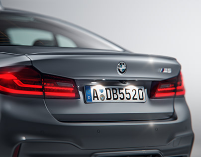 BMW M5 Studio - CGI