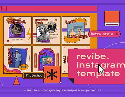 Revibe Instagram Template