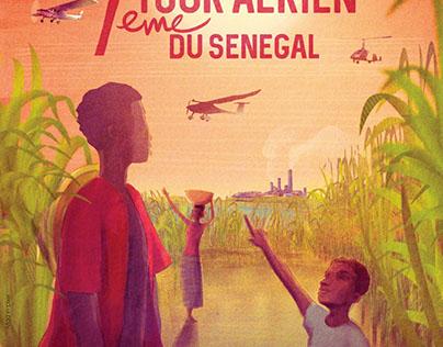 TOUR AERIEN DU SENEGAL