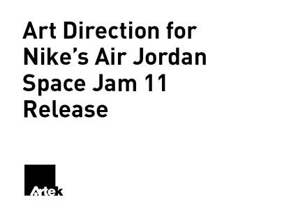 Art Direction for Nike's Air Jordan Space Jam 11