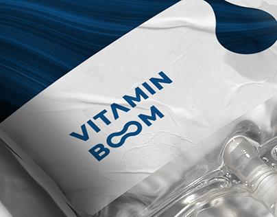 Vitamin boom Identity & Brand Development