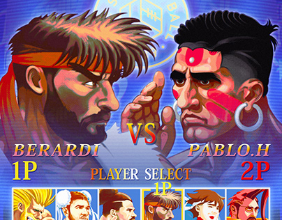 Street Fighter X Leeds United The Square Ball Cover
