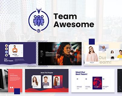 Team Awesome - Team Member Showcase WordPress Plugin