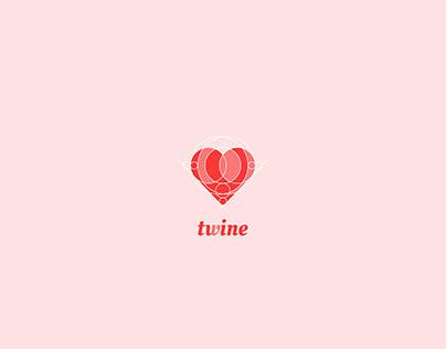 Twine Logo - Dating App Logo