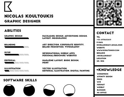 Nicolas Koultoukis - CV