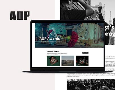 AOP Awards Website