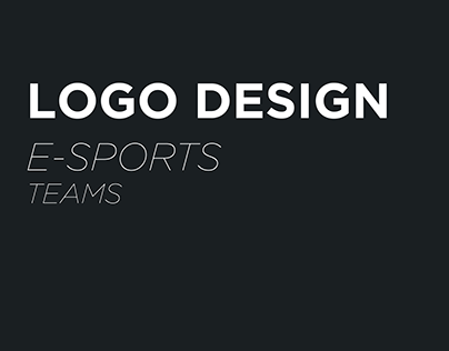 E-Sports Logos