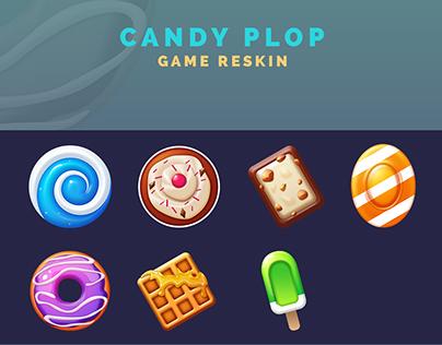 Candy Plop - Game Reskin