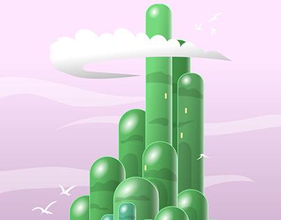 Ai on iPad: Emerald City