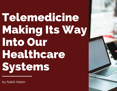 Telemedicine Making Its Way Into Our Healthcare System