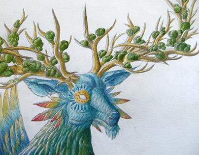 Blue Deer -Tamatzi