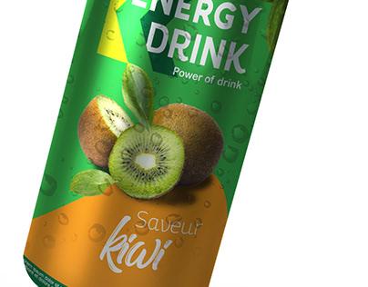 Energy drink Kiwi