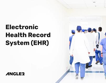 EHR System UX/UI Design