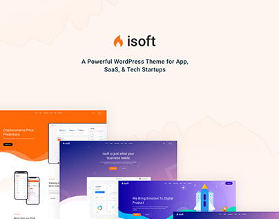 Isoft - SaaS, Software & Startup WordPress