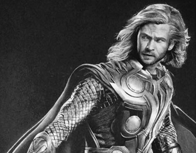 "Chris Hemsworth como ""Thor"""