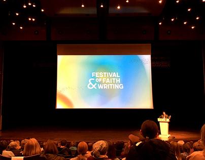 Event Branding • 2018 Festival of Faith & Writing