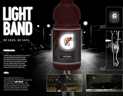Gatorade: Light band