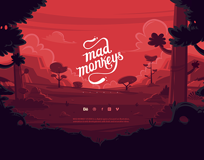 Mad Monkey Studio Website.