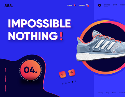 Online Store - Landing Page!
