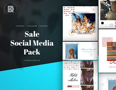 Sale Social Media Pack