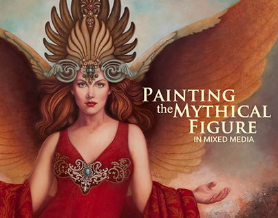 Painting the Mythical Figure in Mixed Media