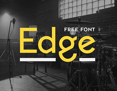Edge Display (type design)