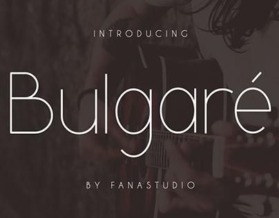 Bulgare-Sans Serif