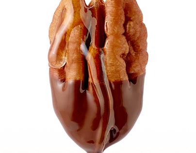 Honey and Chocolate Drip