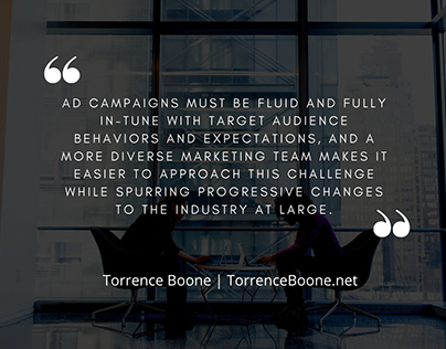 Torrence Boone - Marketing Insights