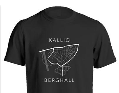 T-shirts for Kallion T-paitakauppa