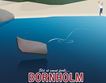 Poster - Slå Et Smut Forbi Bornholm