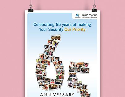Tokio Marine Life Insurance - 65th Anniversary Campaign