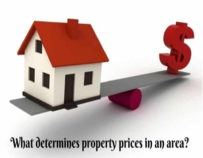 What Determines Property Prices In An Area?