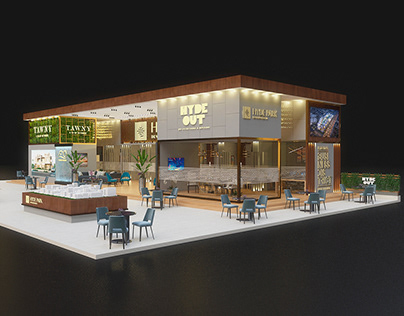Hyde Park Booth @Real Gate 2021 Proposal