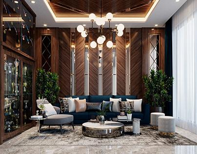 Luxury Wood Interior