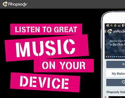 T-Mobile & Rhapsody unRadio