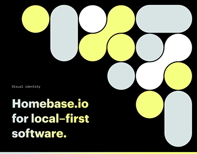 Visual identity homebase.io