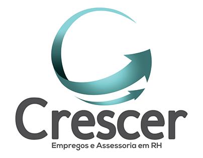Logotipo e Linha estética Crescer Empregos