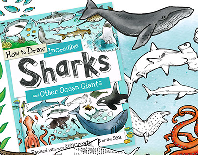 How to Draw - Incredible Sharks