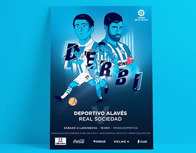 Poster Deportivo Alavés-Real Sociedad