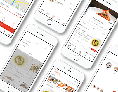 Grab Eat / Delivery Application