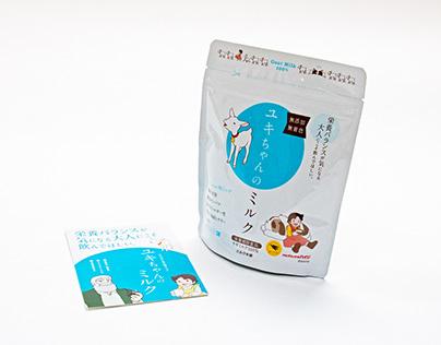 【パッケージ・製品案内】株式会社ミルク本舗様
