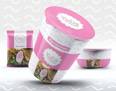 Yoba Noodles Brand Identity Design