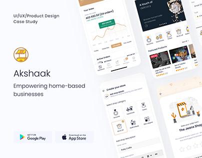 Akshaak - Marketplace For Home Based Businesses