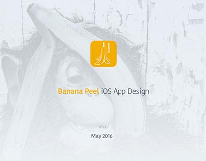Banana Peel iOS App Design