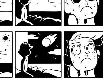 """Surprise"" 3 Panel Comic"