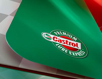 Castrol Premium Lube Express Branding