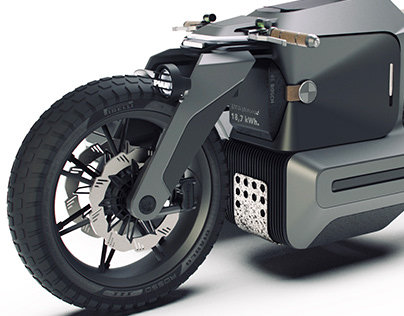 BMW Motorrad x ESMC Off-Road | Adventure e-motorcycle